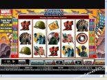 δωρεάν slots machines Captain America CryptoLogic