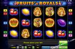 δωρεάν slots machines Fruits and Royals Gaminator