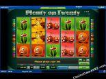 δωρεάν slots machines Plenty on Twenty Novomatic